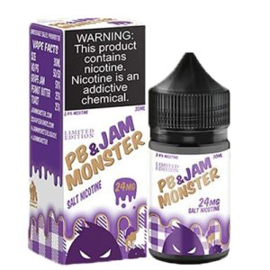 Grape (PB & Jam) LE by Jam Monster Salt Nicotine 30ml